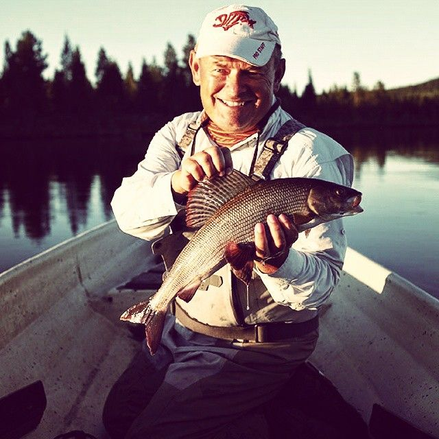 week #25. To be honest the fishing for big grayling has been very good the last few days on the lakes around Sorsele. #grayling #flyfishing #swedishlapland