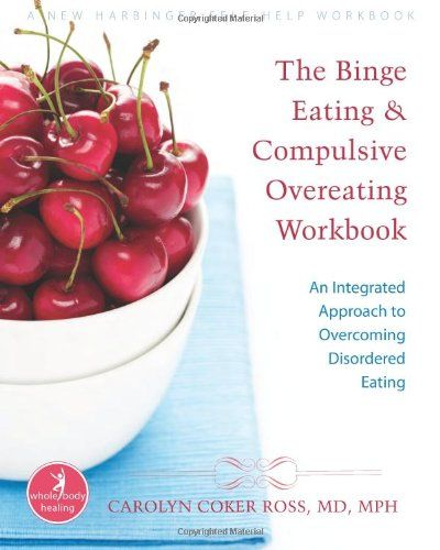 In 'The Binge Eating and Compulsive Overeating Workbook: An Integrated Approach to Overcoming Disordered Eating (The New Harbinger Whole-Body Healing Series) by Carolyn Coker Ross, MD, MPH ($16.45 @ http://astore.amazon.com/firstworld-20/detail/1572245913), you'll learn skills and nutrition guidelines recommended by doctors and therapists for healthy eating and how to quell the often overpowering urge to overeat.