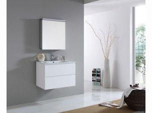 Madero 750mm Bathroom Vanity White