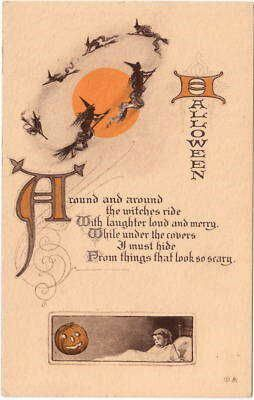 Love the verse on this card  - very spooky!