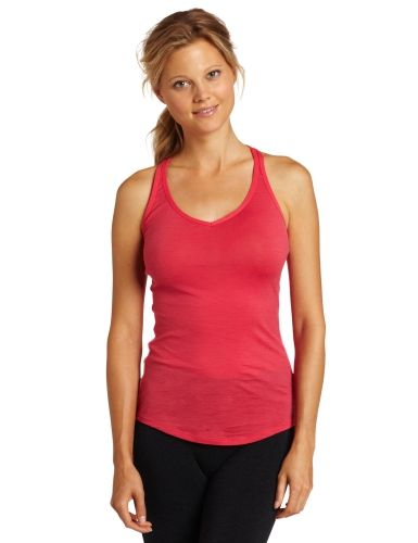 Icebreaker Women's Sprite Racerback Tank, Small, Hibiscus.    List Price: $55.00  Buy New: $41.18  You Save: 25%  Deal by: AthleticClothingShop.com