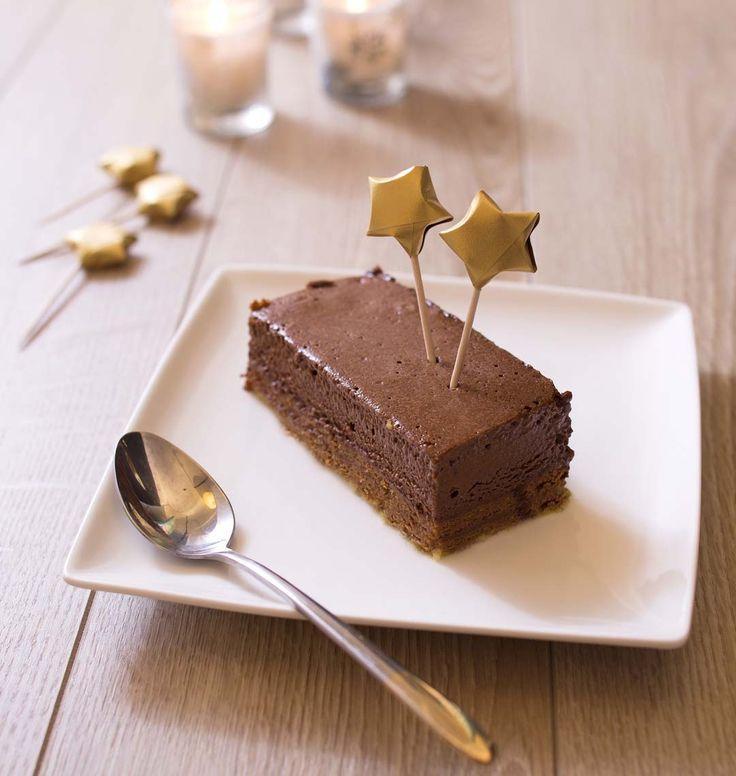 Royal au chocolat (ou trianon), la recette d'Ôdélices : retrouvez les ingrédients, la préparation, des recettes similaires et des photos qui donnent envie !