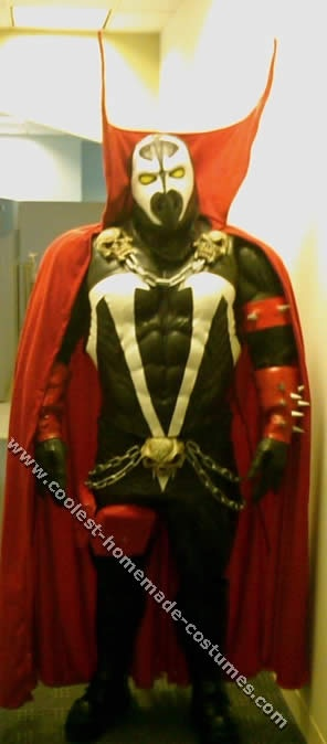 Homemade Spawn Costume B wants but it's insanely expensive to make