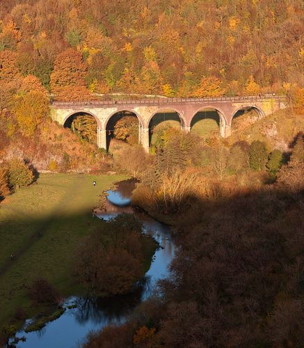 Take a walk over the Monsal Viaduct on the Monsal Trail in the Peak District and you'll get  spectacular views.  Riverside House holiday cottage is only 20 minutes away too!  www.riversidehouse-peakdistrict.co.uk