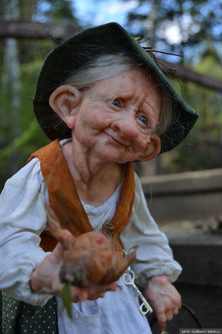 Лесная колдунья. Авторская кукла Катрушовой Татьяны / Лепка авторских кукол / Бэйбики. Куклы фото. Одежда для кукол