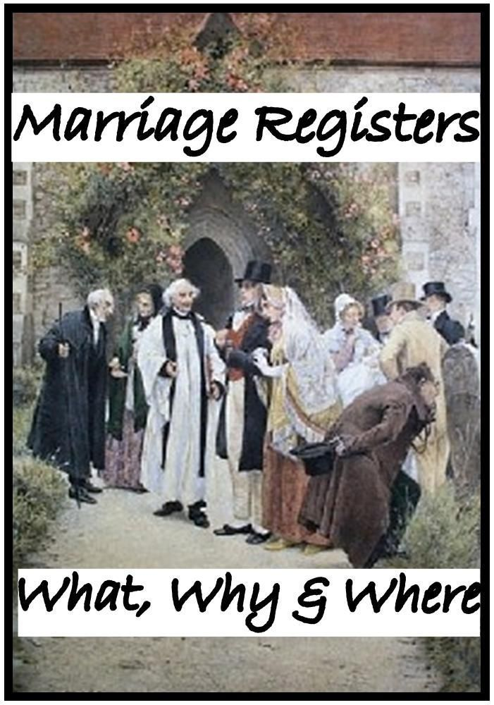 Want to expand your family history by another generation? Then learn all about Parish Marriage Registers, make the most of these great genealogy resource.