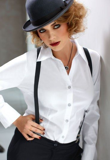 This isn't a cosplay outfit! BUT, it would make great female clockwork orange cosplay.