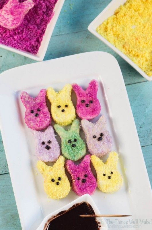 For Easter this year, I decided to make some paleo homemade marshmallow peeps using homemade sprinkles made with homemade natural food coloring! It's easy! Find out how!