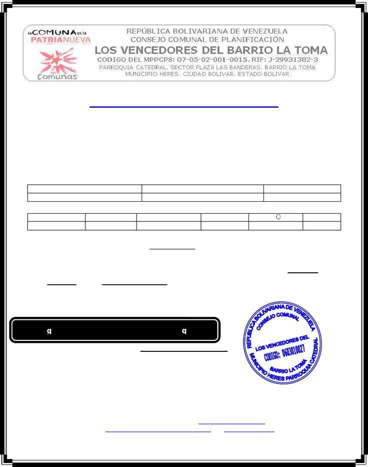 Formato Modelo Ejemplo Carta de desempleo
