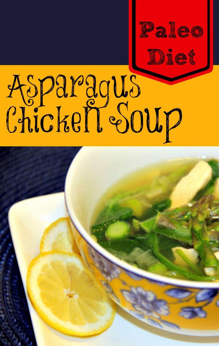 Paleo Diet Recipe Asparagus Chicken Soup