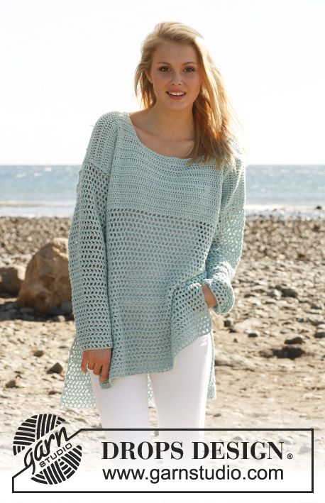 807 Best Free Crochet Shawls Ponchos And Sweater Patterns Images On