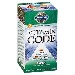 Vitamin Code Family (120 Veggie Caps)  by Garden of Life at the Vitamin Shoppe