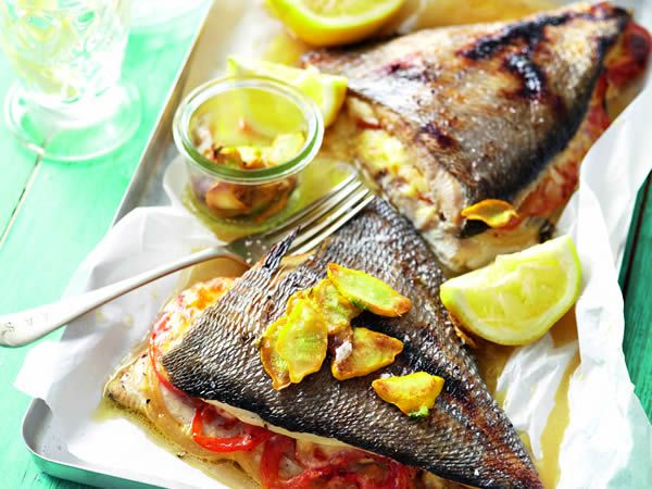 Low-carb high-fat stuffed angelfish http://www.eatout.co.za/recipe/low-carb-high-fat-stuffed-angelfish/