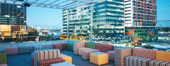 Up on Constance Rooftop Bar - TRYP Fortitude Valley
