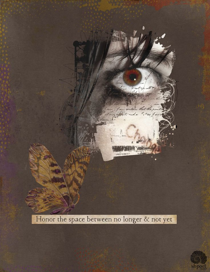 https://flic.kr/p/RMdtyd | THE SPACE BETWEEN |   For a photo blending challenge at The Lilypad. Made with Etc. by Danyale's kit Clarity. The photomask is from Little Butterfly Wings. The photo is from Sarah at flickr with a Creative Commons license. #the_lilypad #artjournal #digitalartjournaling #digitalart