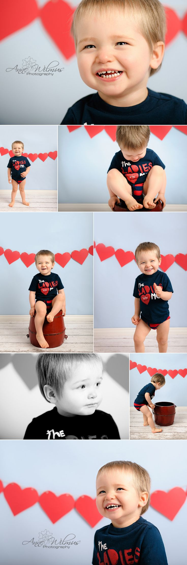 Valentine's Day Baby Toddler Photo Ideas, Old Navy T-shirt, Anne Wilmus Photography, Pittsburgh Baby Photographer 2