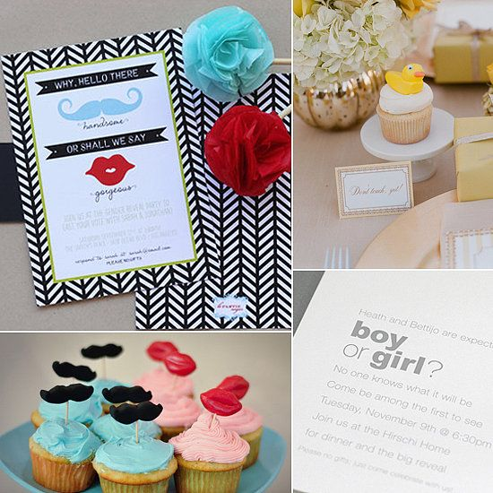 invitation ideas gender reveal photos baby blessing baby shower photo