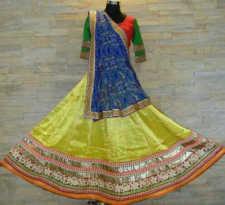 Chaniya choli design
