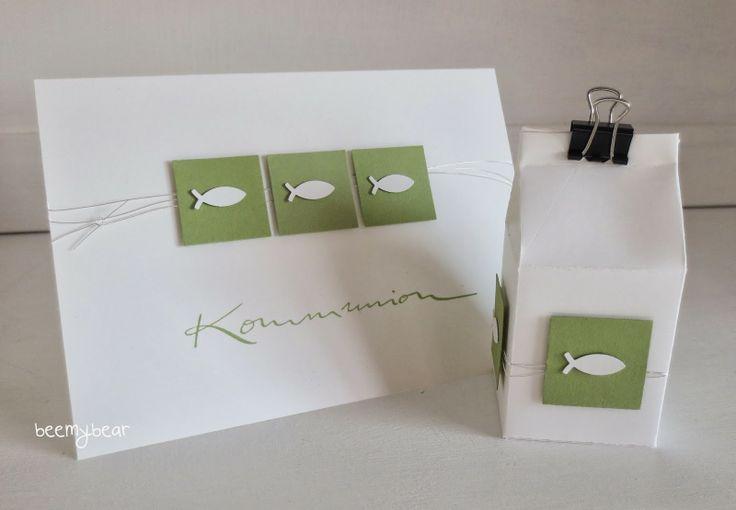 stampin with beemybear - Set zur Kommunion