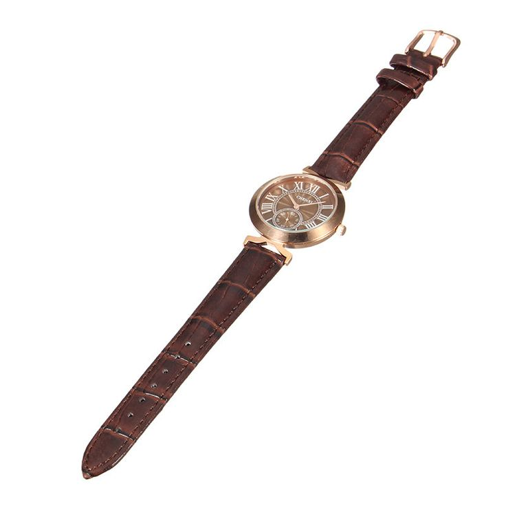 CHENXI Unisex Watch Casual Leather Two Dial Watch