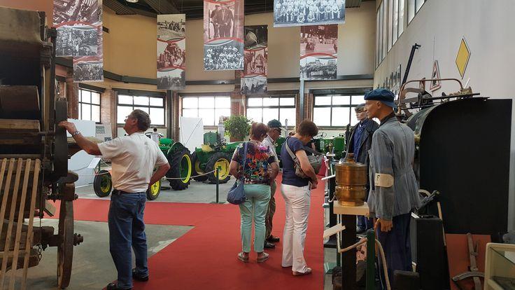 Musée de Vierzon - Espace dédié au machines agricoles.