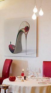 Auberge du Vieux Puits - Restaurant in Fontjoncouse, France by Gilles Goujon.