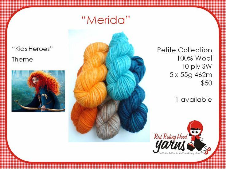 Merida - Kids Heroes | Red Riding Hood Yarns