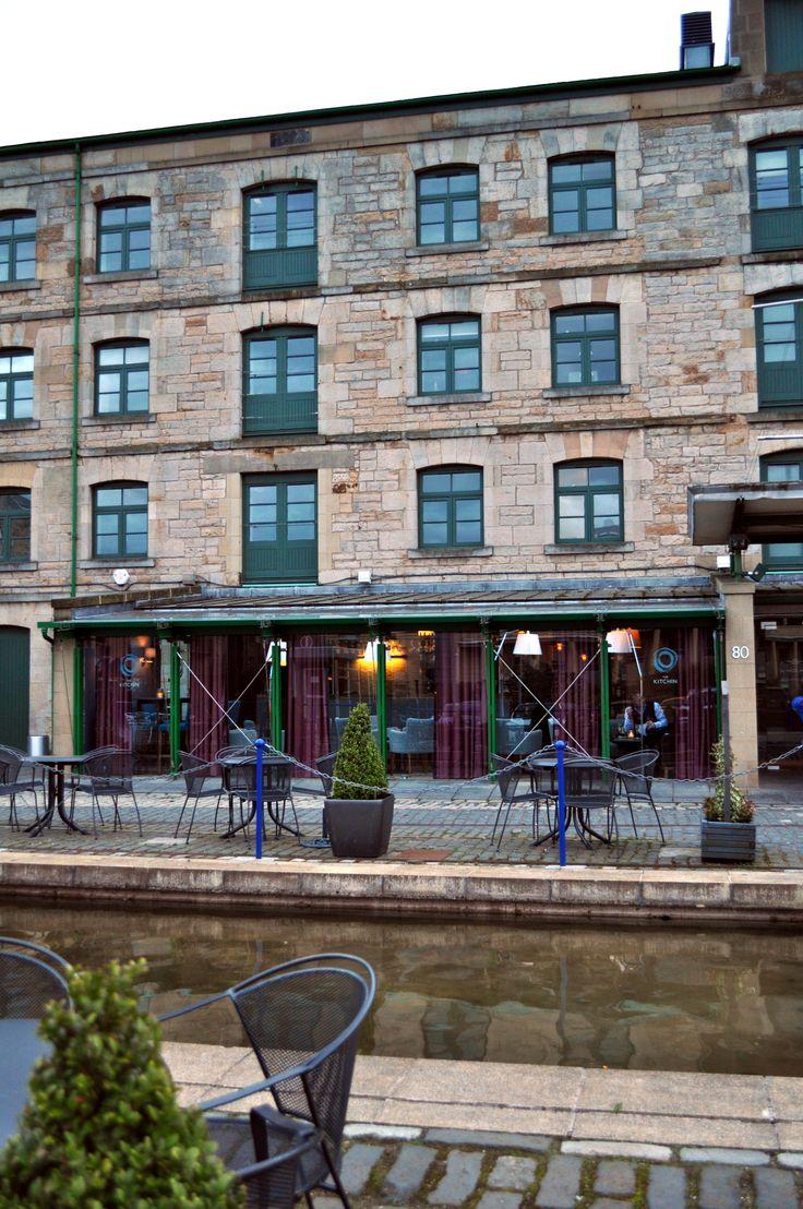 "Tom kitchins resteraunt ""THE KITCHIN"" edinburgh, Scotland. MUST EAT HERE."
