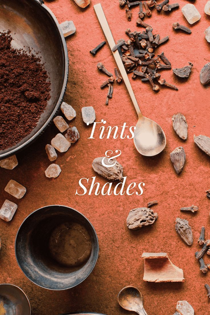 How to Use Tints and Shades in Your Designs