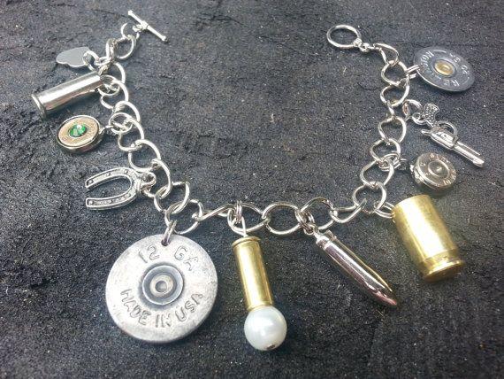 Hunting Girl Charm Bracelet