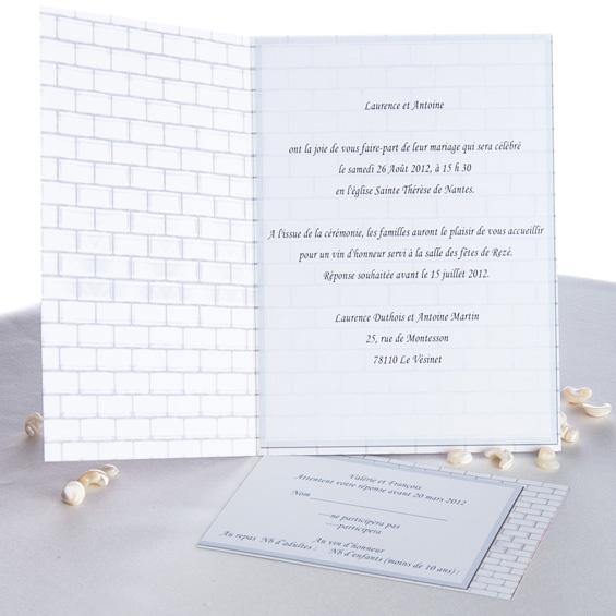 Berühmt texte invitation mariage original - 100 images - faire part  NE29