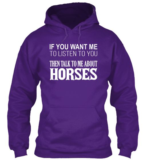Talk To Me About Horses