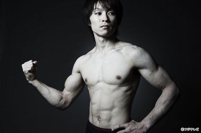 究極の肉体美を披露した、内村航平/「体操世界選手権2014」