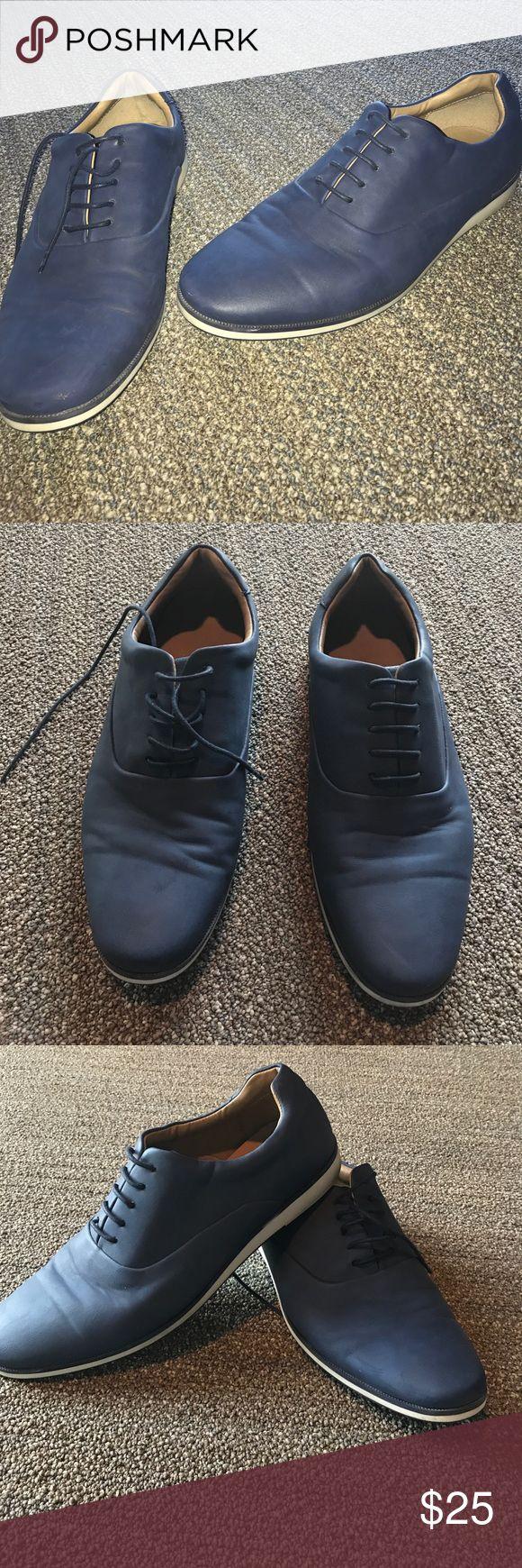 "FLASH🇺🇸SALE Zara Men ""Sporty Shoes"" Sleek blue. Men's size 10.5. Zara size 43 Zara Shoes"