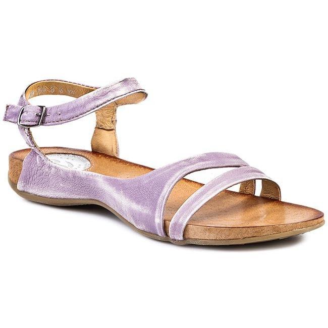 Sandały CARINII - B2084 Fioletowy