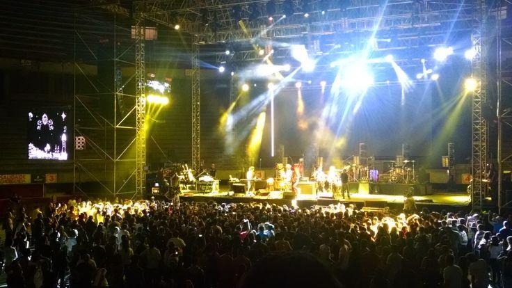 Puerto Candelaria abrió el concierto con mucha energía