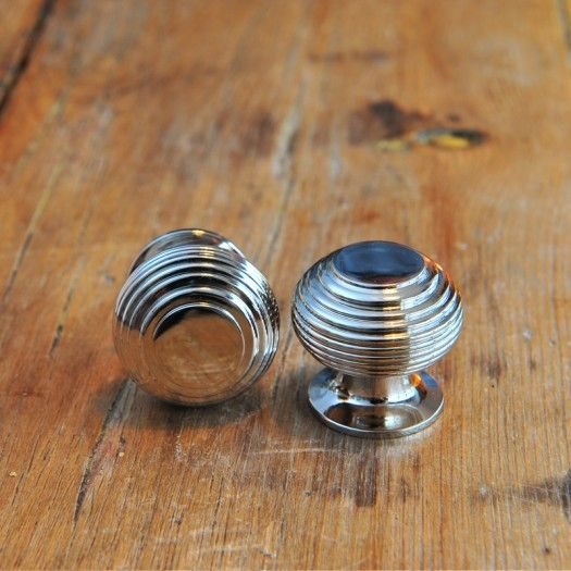 Beehive Small Cabinet Knob - Nickel
