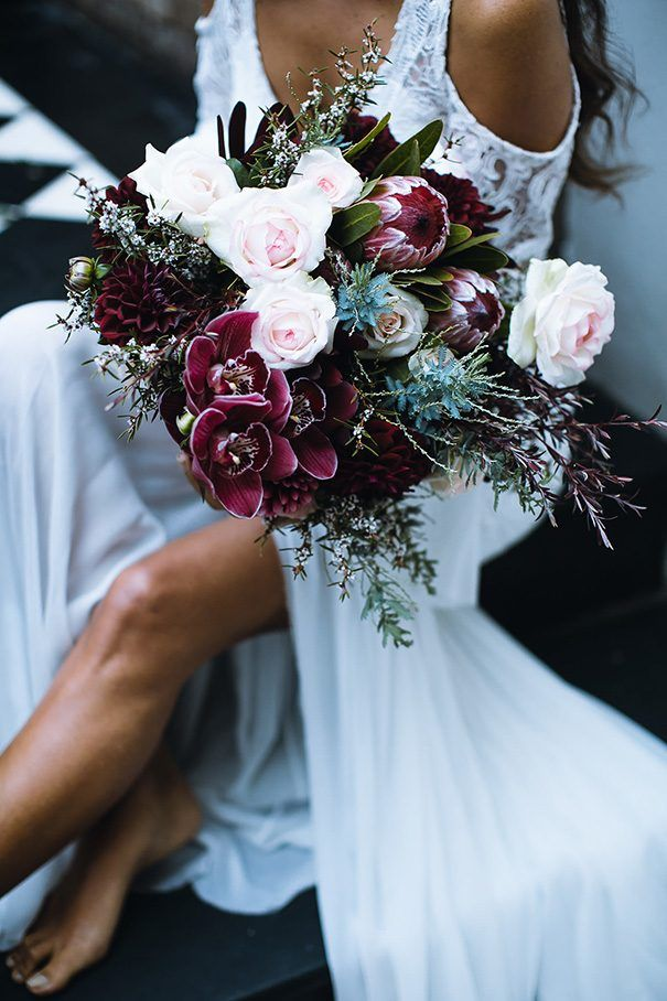 ORCHID FLAME : STYLED SHOOT