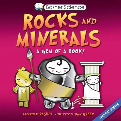 Mixes science and art to bring the world of geology to life, with wacky characters to explain the things that form the foundations of our planet including rocks, gems, crystals,  fossils, and more. Gr.5-9.