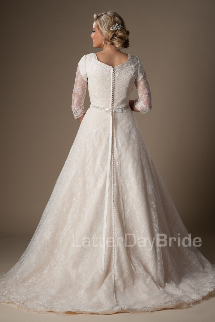 650 best images about wedding junk on pinterest for Latter day wedding dresses