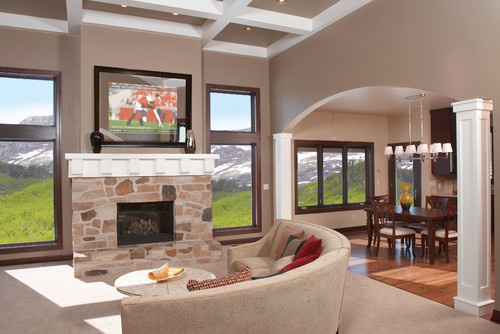 Valspar timber dust houzz living room paint colors - Photos of living room paint colors ...