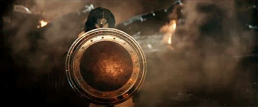 Batman v Superman: Dawn of Justice (Ben Affleck, Henry Cavill, and Gal Gadot as Wonder Woman)