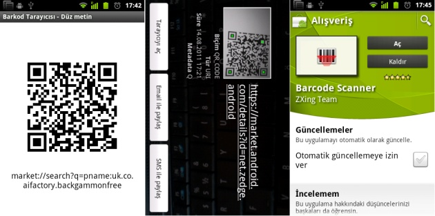 Barcode Scanner ile Android Tefelona UygulamaYükleme   http://androidturkey.net/2011/08/14/barcode-scanner-ile-android-tefelona-uygulama-yukleme/
