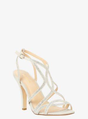 Gemstone Strappy Heels (Wide Width)