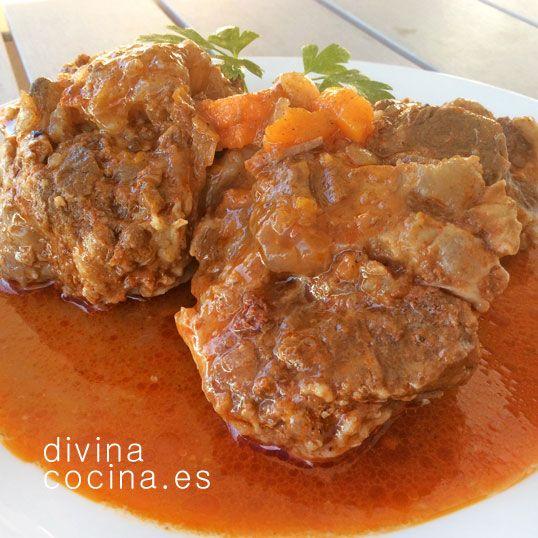 Rabo de ternera guisado a la antigua » Divina CocinaRecetas fáciles, cocina andaluza y del mundo. » Divina Cocina