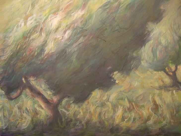 Acrylics on canvas 100x80cm