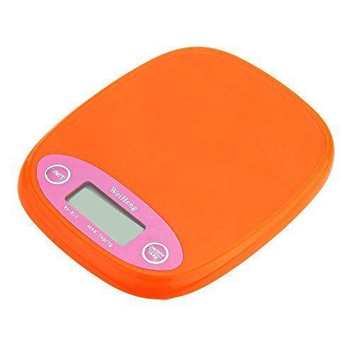 Balance de cuisine Aliments Poids – Weiheng 7 kg / 1g electronique Solde Digital Pocket Cuisine Nourriture Balance orange:…