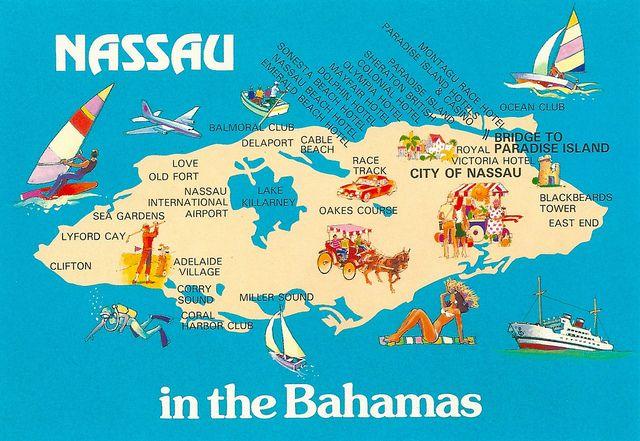 Bahamas - Nassau Map