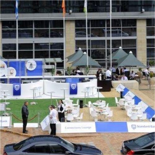 Outdoor event area #events #design #miningindaba #rubyoriginal