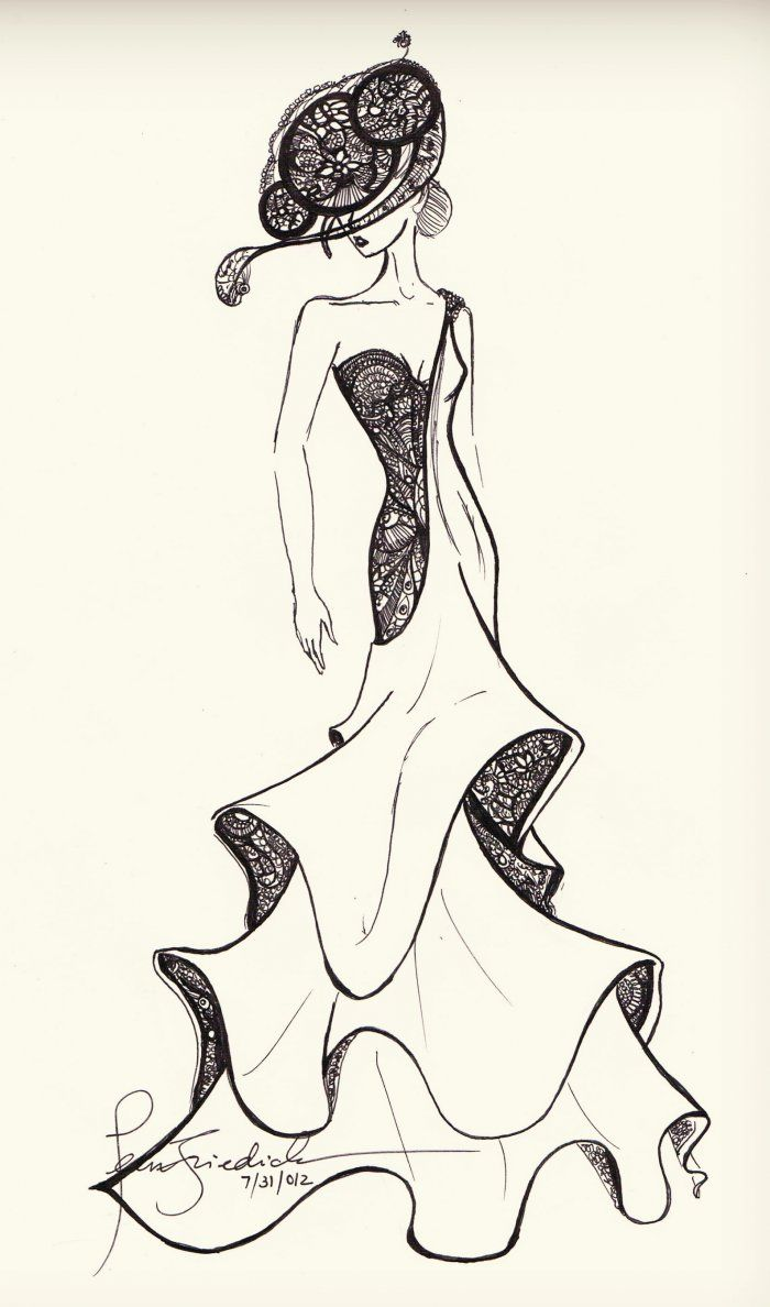 "LittleMonsters | Backplane – Sketch Submission ~ Gaga in Elisabeta by JeanFriedrich ""love you Gaga!"" – LittleMonsters – Backplane"